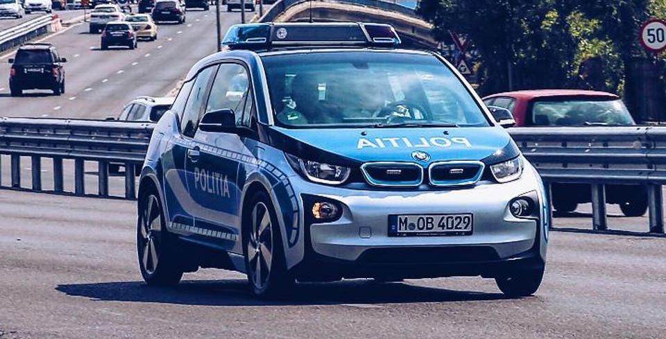 Romanya Polisi Art�k BMW i3 de Kullanacak