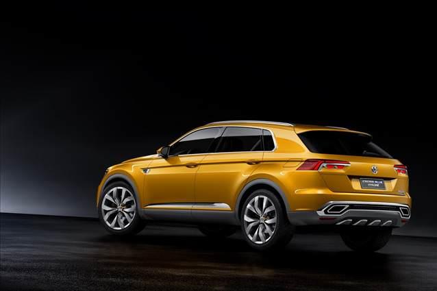 Volkswagen e yeni crossover müjdesi