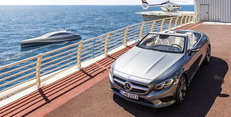 Havada, Karada, Denizde Mercedes