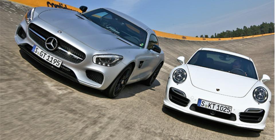 Kar��la�t�rma: Mercedes-AMG GT S, Porsche 911 Turbo