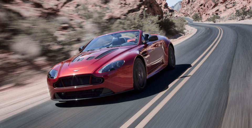 Aston Martin'in En H�zl� ve En G��l� Roadster'�