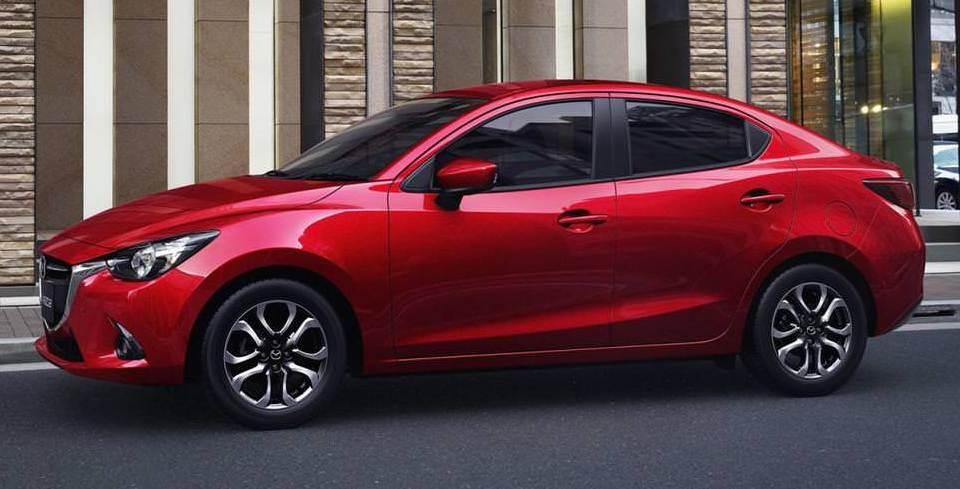 Mazda2 Sedan Kendini G�sterdi