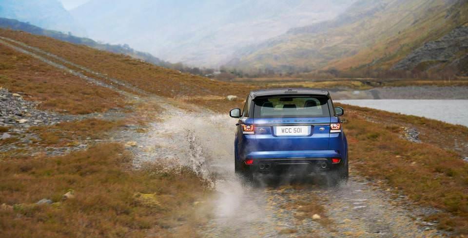 Range Rover Sport SVR En H�zl� SUV
