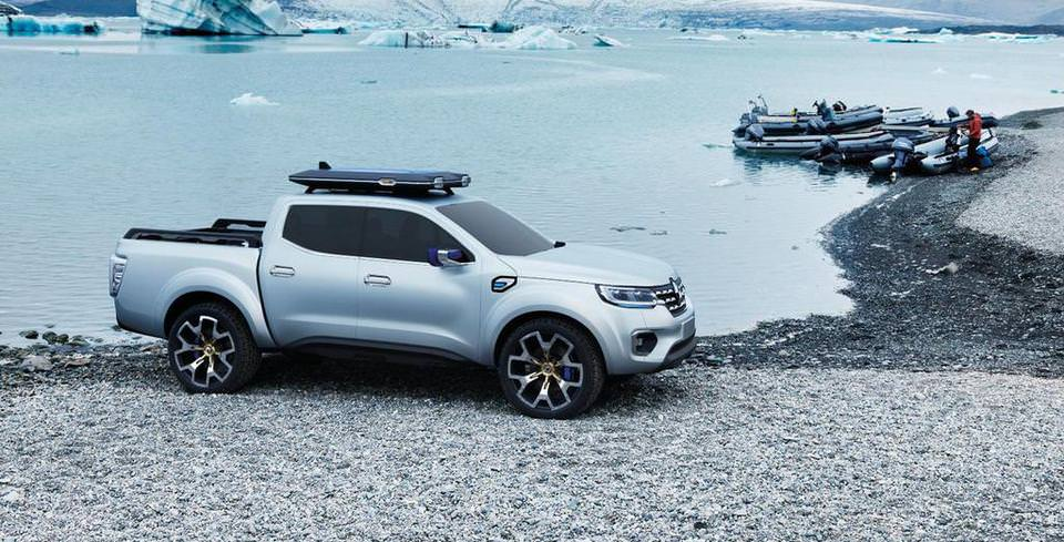 Renault'nun Yeni Pick-Up Modeli Alaskan
