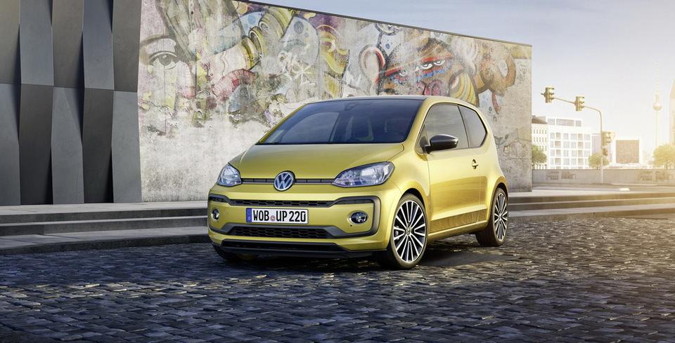 Volkswagen Up! Yenilendi