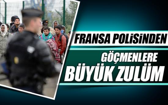 PARİSTE POLİS ZULMÜ