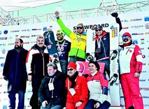 Dünyanın en iyi Snowboard'cuları Erciyes'te buluştu