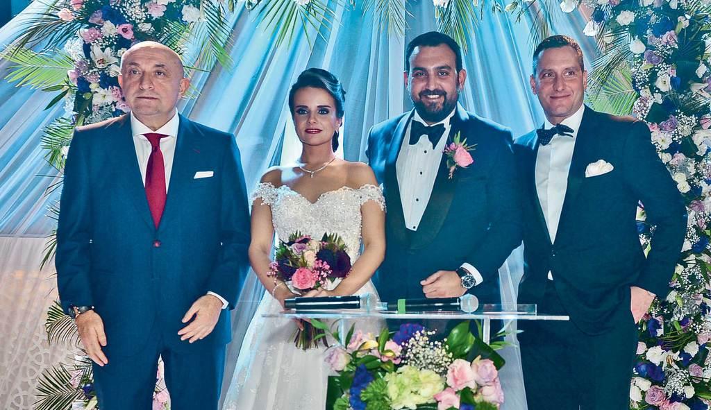Genç çift için masal gibi düğün