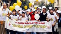 Türk Diyabet Vakfı Dünya Diyabet Gününü kutluyor