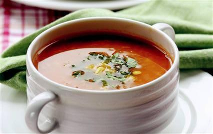 Baharatlı Kırmızı Mercimek Çorbası