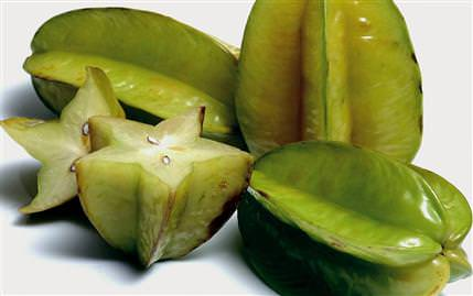 Karambola (star fruit, carambola)
