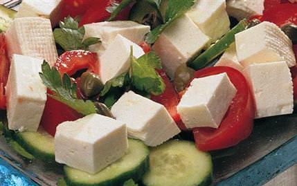 Beyaz Peynir Salatası