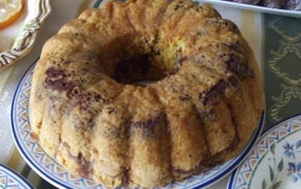 Yağsız Kakaolu Kek..