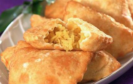 Pirinçli Safranlı Börek
