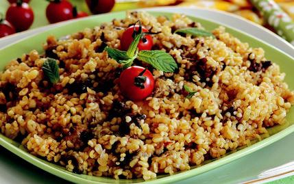 Sarkaç: Patlıcanlı Bulgur Pilavı 61