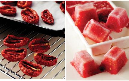 Yaz domateslerini kışa saklayın!