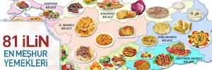 81 il en me�hur yemekler