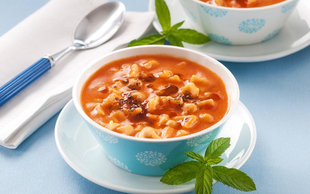Mantılı nohutlu çorba