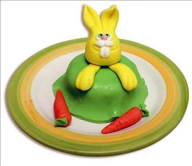 Tavşanlı pasta yapımı