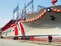 Elektrik üreten gemiye Yap� Kredi'den destek