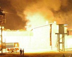 Zile Cezaevi'nde mahkumlar yang�n ç�kard�