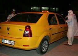Taksiciyi cesareti kurtard�
