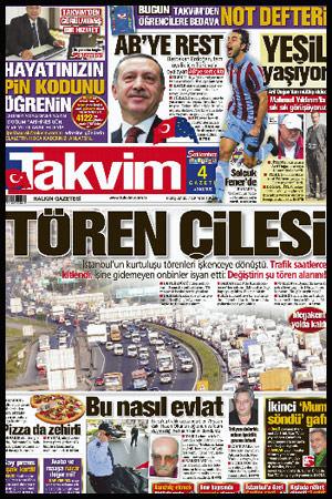 Takvim'den E-gazete keyfi - Takvim - 07 Ekim 2010