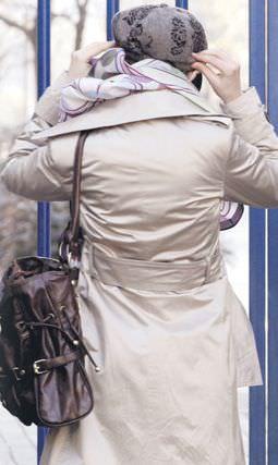 Yüzü buzlu, başı türbanlı kız'a - ARDA USKAN - Takvim