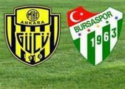 Ankaragücü-Bursaspor/CANLI