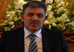 Abdullah Gül'den ilk aç�klama