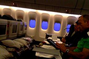 S�ra dolmu� uçakta