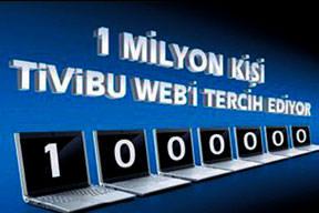 Tivibu Web 1 milyon aboneye ula�t�