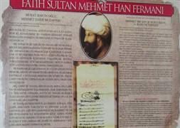 �slamofobiye kar�� Fatih'in ferman�