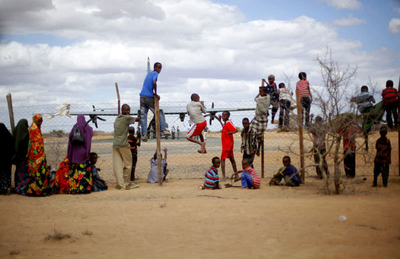 Somali'ye yard�m yola ç�kt�
