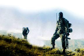 Özel birlikler Gabar'da