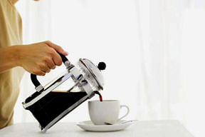 Felce kar�� 2 fincan kahve