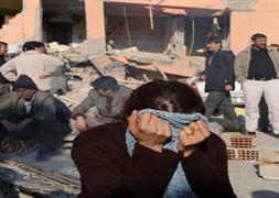 Depremin ard�ndan Van