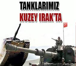 Tanklar Haftanin kamp�na girdi