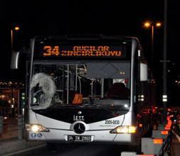 Metrobüs kaza yapt�!