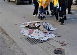 Antalya'da otomobil refüje çarpt�