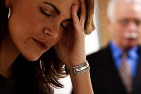 женщины стресс