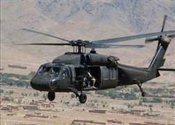Askeri helikoptere saldırı!