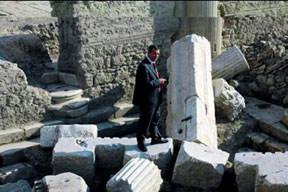 Bin 400 y�l önceki depremin izleri