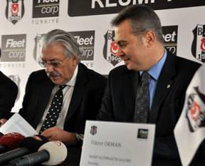 Beşiktaşta yeni sponsor Fleetcorp