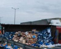 TEM Otoyolu'ndan feci kaza