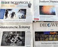 Alman gazetesinden a��r hakaret