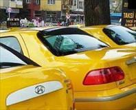 Taksiler para bas�yor!