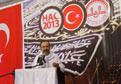 Vakfe duas� Türkiye'de canl� izlendi