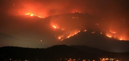 2003 - Sedir Yang�n� , Amerika Birle�ik Devletleri Güney Kaliforniya'daki yang�n