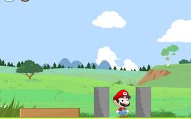 Mario hava sald�r�s�